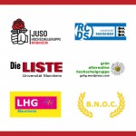 Podiumsdiskussion der politischen Hochschulgruppen