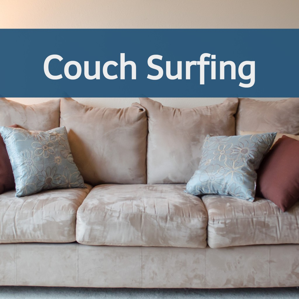 Couch Surfing Webseite