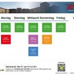 Neuer AStA Aktionen Timetable für das FSS 2017