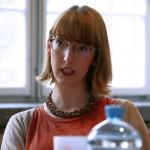 Derzeitig im Asta-Vorstand und gahg-Spitzenkandidatin: Elena Klafsky möchte die Uni Mannheim als Fairtrade-Uni, Kleidertauschpartys und maximale Toleranz.