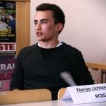 Gegen Aufwandsentschädigungen im AStA, für Fahrradsicherheit und längeres Mittagessen: Florian Lichtenecker vom RCDS