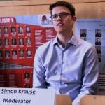 Investigativ: Moderator Simon Krause