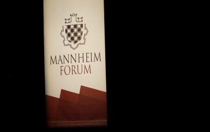 Mannheim Forum 2018: Die Eröffnung durch Christian Wulff, Bundespräsident a.D. und Optimist