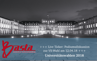 +++ Live Ticker: Podiumsdiskussion zur VS-Wahl am 12.04.18 +++