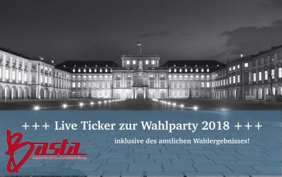 +++ Live Ticker: Ergebnisse der Uniwahlen 2018 +++